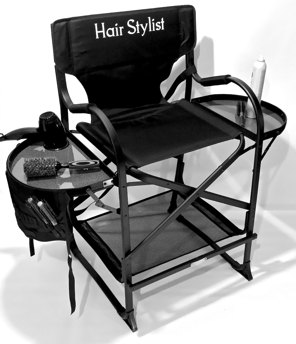 Portable makeup chair - As Seen On Tv The Original Tuscany Pro Mid Size Makeup Hair Portable Chair W Light System 25 Seat Height Tuscany Pro