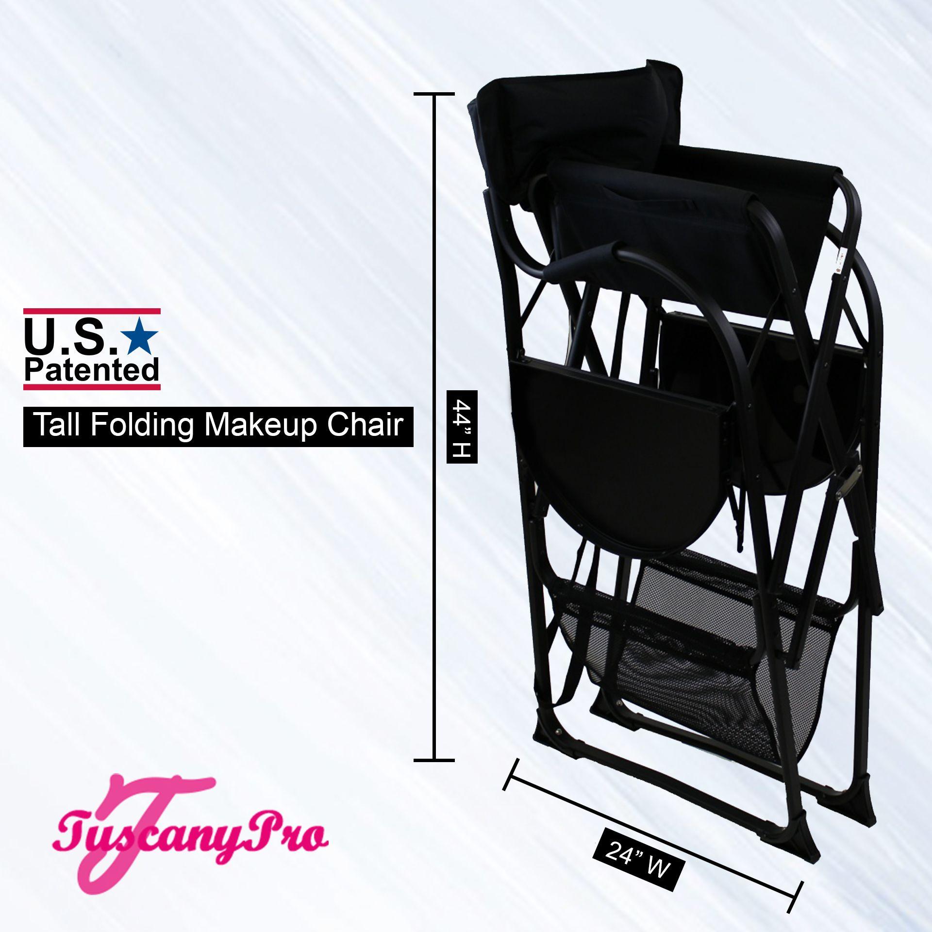 Tuscany Pro Tall Portable Makeup Chair