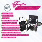 MID SIZE MAKEUP & HAIR PORTABLE CHAIR–DELUXE COMBO