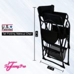 THE AWARD WINNING TUSCANY PRO TALL MAKEUP ARTIST PORTABLE CHAIR DELUXE COMBO-4