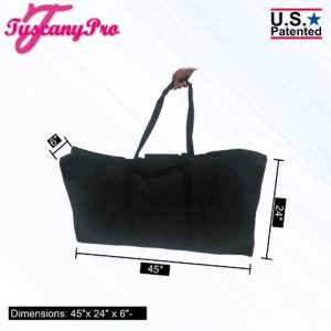 TUSCANY PRO MAKE UP CHAIR CARRY BAG-LARGE SIZE