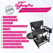 MID SIZE MAKEUP & HAIR PORTABLE CHAIR