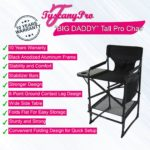 """BIG DADDY"" OVERSIZED HEAVY DUTY TALL MAKEUP CHAIR"