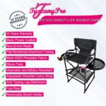 """""""NEW"""" 2019 TUSCANYPRO MID SIZE HAIRSTYLIST MAKEUP CHAIR W POWER STRIP – 25″ SEAT HEIGHT(COPY)"""