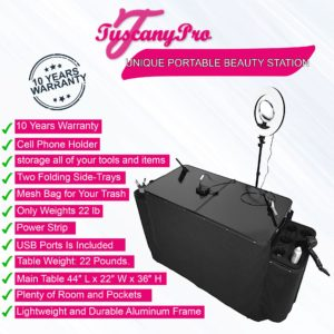 UNIQUE PORTABLE BEAUTY STATION