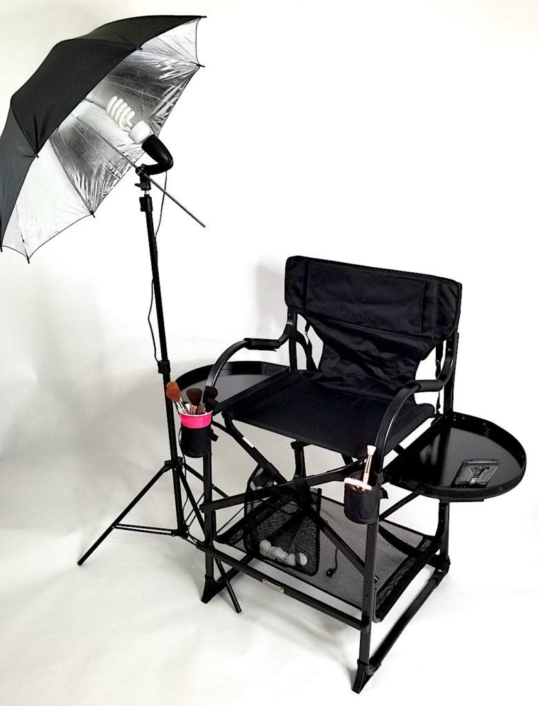 professional makeup artist chair