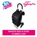 TuscanyPro Makeup Cart with Staircase Climber Wheels – Unique Folding Trolley Dolly & A Makeup Artist Bag – US Patented – 10 Years Warranty -2