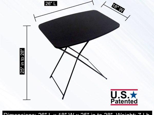 FOLDING COMPACT MAKEUP TABLE
