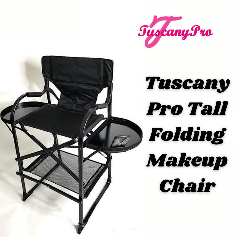 Tall Folding Makeup Chair